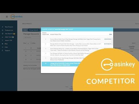 Competitor Product/Keyword Track - AsinKey