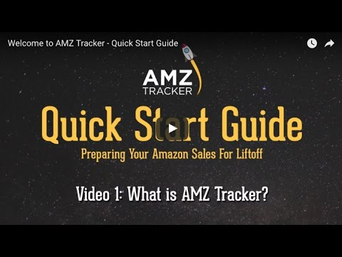 What is AMZ Tracker? - Quick Start Guide - Video 1