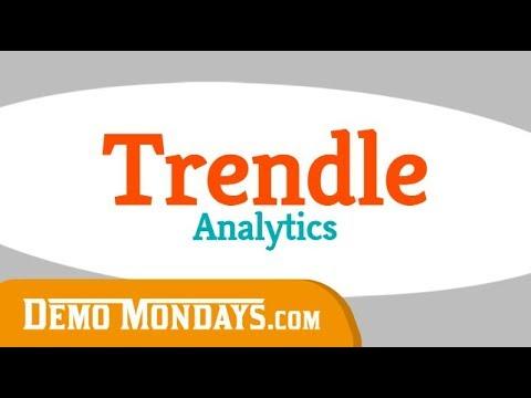 Demo Mondays #23 - Trendle Analytics