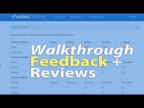 How I Use Salesbacker To Receive Amazon Feedback and Reviews on Private Label Products