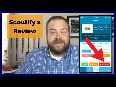 Scoutify 2 app from InventoryLab - Review of the NEW Scoutify FBA Sourcing App