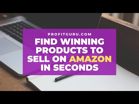 Find winning products to sell on Amazon in seconds