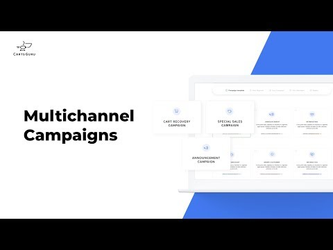 Multichannel marketing automation for e-commerce