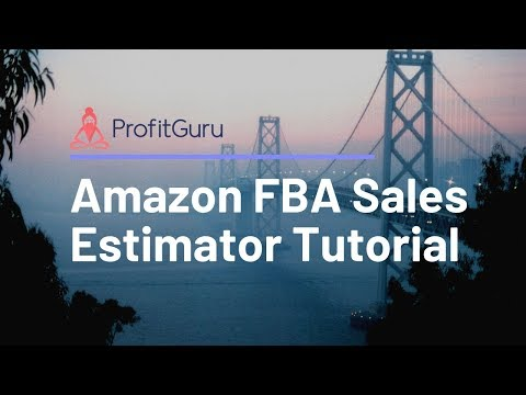 ProfitGuru | Amazon FBA Sales Estimator