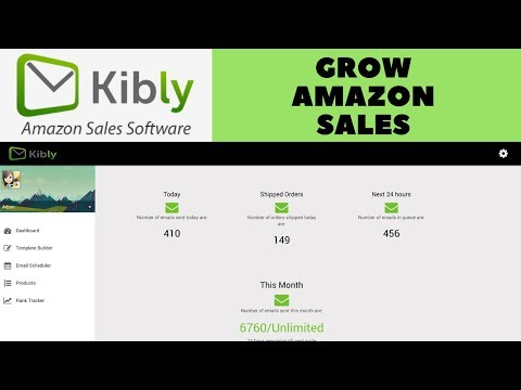 Want to Grow Amazon sales, Feedback & Repeat customers? USE KIBLY