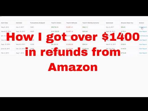 Getting Refunds and Reimbursements using AMZ Refund