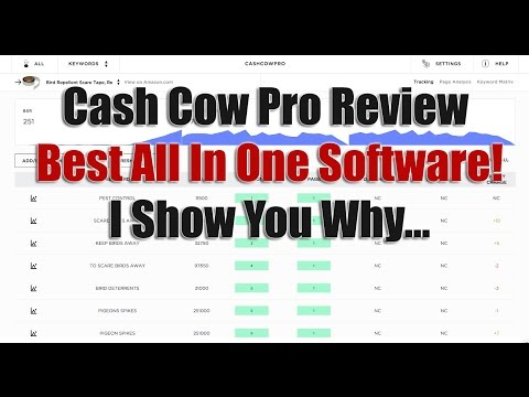CASHCOWPRO Review - Amazons ULTIMATE Tracking, Email, Keyword & Profit Tracking Software!