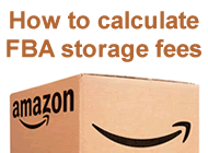 how to calculate fba storage fees