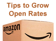 tips to grow amazon open rates