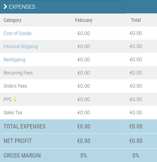 fetcher expenses dashboard
