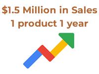 15milions sales