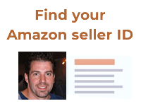 How to Find your Amazon Seller ID