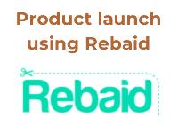 amazon product launch using rebaid