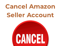how to cancel amazon seller account