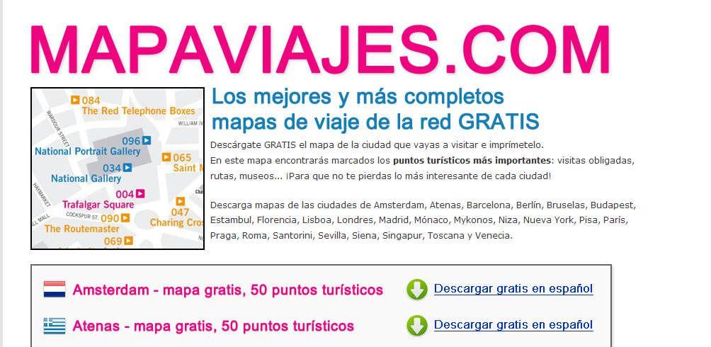 Mapaviajes.com: web horrible, buenas conversiones o sobre saltarse las reglas