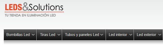 Un ejemplo brillante de ficha de producto: ledsandsolutions.com