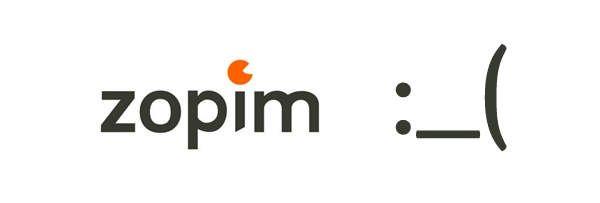 La estrategia comercial de mierda de Zopim.com