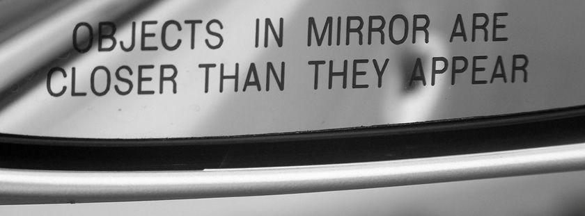 Objects in the mirror are closer than they appear: la importancia de la competencia