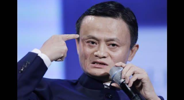 Jack Ma, tiene 2 dedos de frente