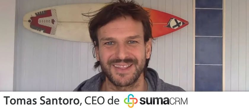 Entrevistas ecommerce: Tomás Santoro, CEO de SumaCRM