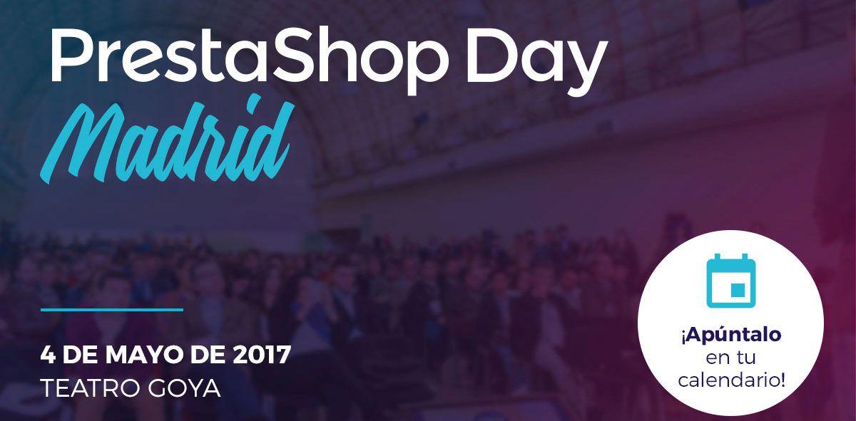 Nos vemos este mayo en el Prestashop Day Madrid 2017