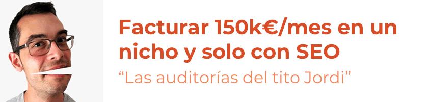 Facturar 150k€/mes en un nicho y solo con SEO es posible