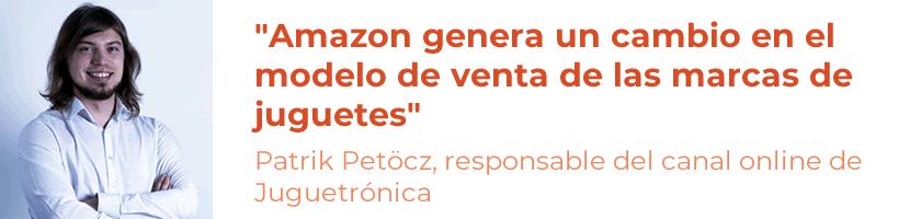 Entrevistas eCommerce: Patrik Petöcz, responsable del canal online de Juguetrónica