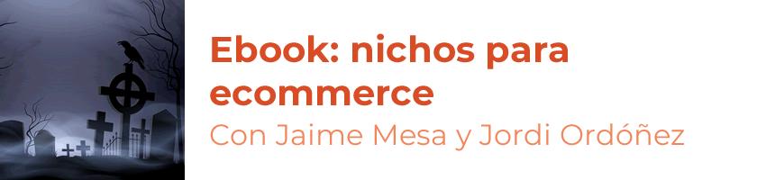 ebook nichos ecommerce jaime mesa jordi ordóñez