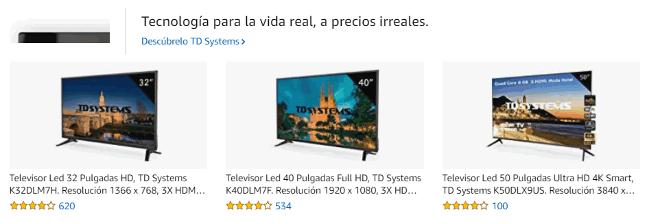 publicidad en amazon amazon sponsored brands
