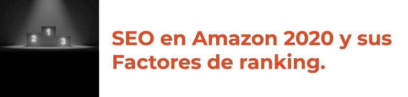SEO en Amazon 2020